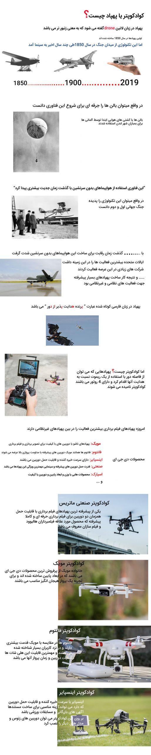 یا پهپاد چیست؟ what is a quadcopter djiland com 1 scaled
