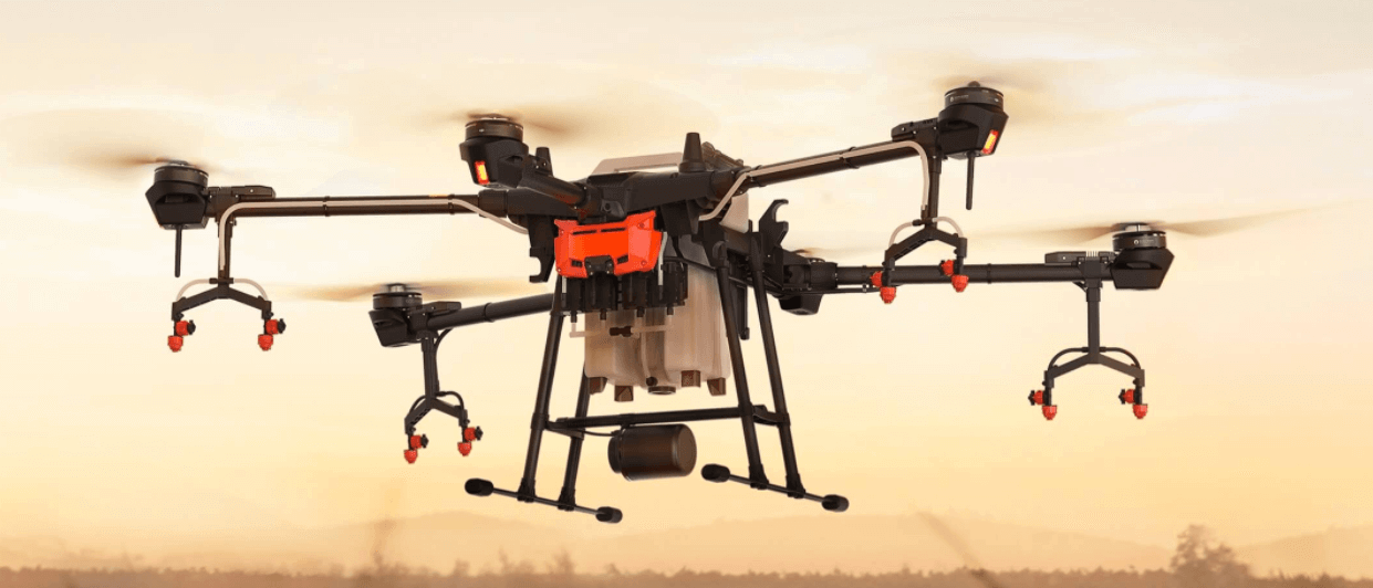 DJI T16 agriculture sprayer drone 1