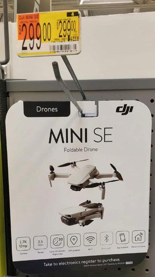 DJI Mini SE djiland com b